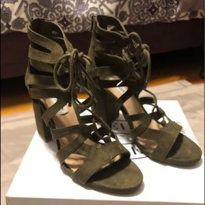 Shoes - Steve Madden lace up sandals
